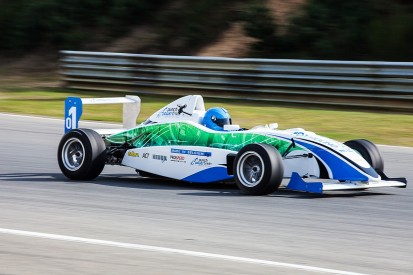 New junior electric single-seater racing car revealed