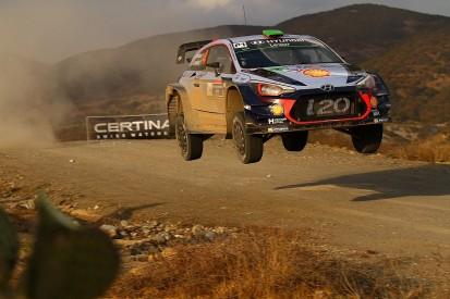 Hyundai WRC Rally Mexico engine problem 'never seen before'