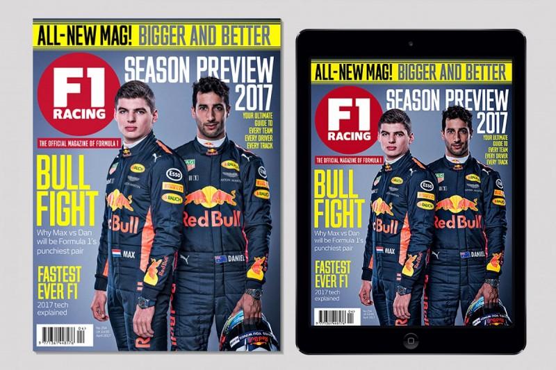 F1 Racing magazine upgraded for 2017 season
