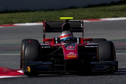 Alexander Albon keeps ART on top on second day of Barcelona F2 test