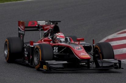 McLaren's Matsushita fastest on first day of testing in new F2 era