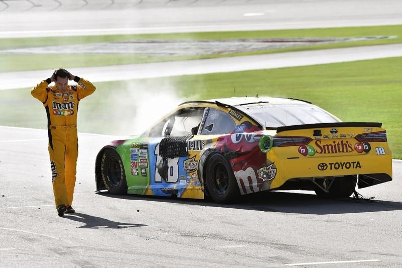 NASCAR warns against retaliation after Busch/Logano fight