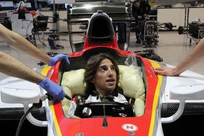 Former F1 driver Merhi to test F2 car with view to racing in series