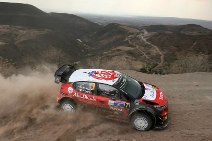Rally Mexico: Meeke takes lead with first stage wins of WRC 2017