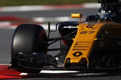 F1 testing 2017: Scoring points difficult for Renault - Hulkenberg