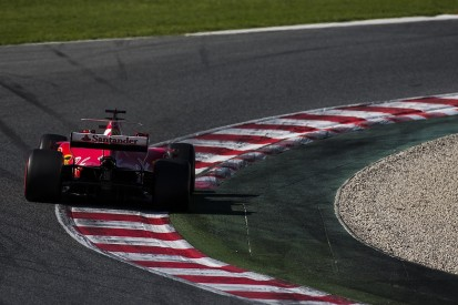 F1 testing: Raikkonen puts Ferrari on top on final day at Barcelona