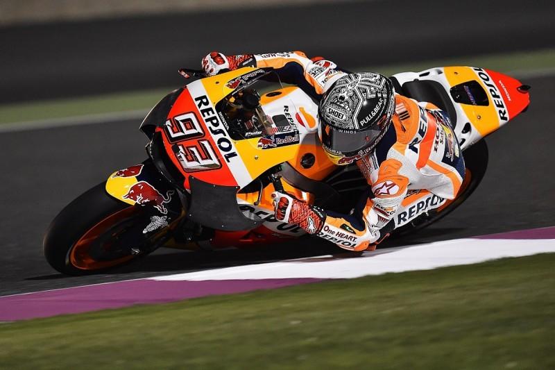MotoGP testing: Marc Marquez crashes trying new Honda fairing