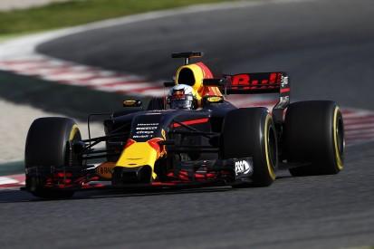 Red Bull 'got confused' during Thursday F1 testing, Ricciardo says