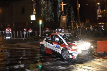 Toyota's Juho Hanninen takes WRC Rally Mexico lead after Zocalo run