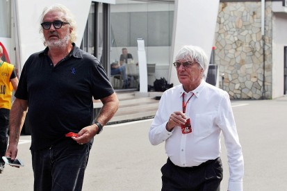 Ex-F1 boss Ecclestone treated poorly by new owner, Briatore says