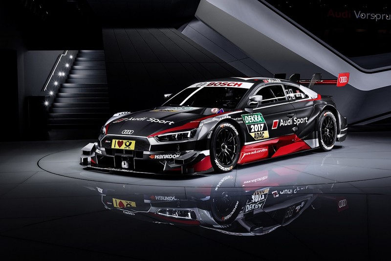 Audi reveals 2017 DTM RS5 for rules revamp