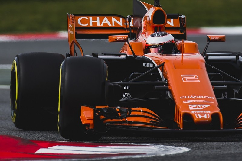 McLaren: First F1 pre-season test performance nowhere near target