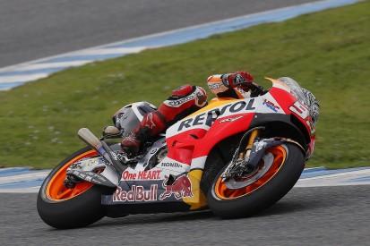 Honda's MotoGP champion Marquez won't be 100% fit for Qatar test