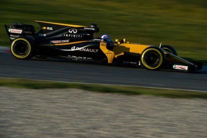 Renault Formula 1 test form 'a pleasant surprise' - Jolyon Palmer