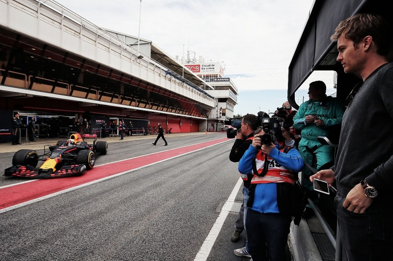 F1 drivers will lose wins due to 2017 cars, Rosberg believes