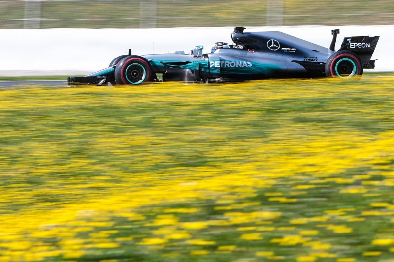 Valtteri Bottas and Mercedes set fastest pace of F1 testing so far