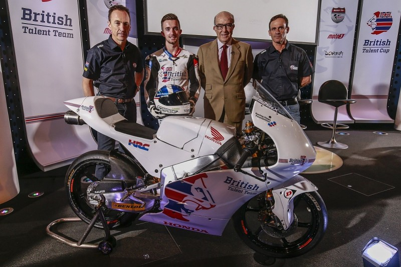 MotoGP launches British Talent Cup series and British Talent Team