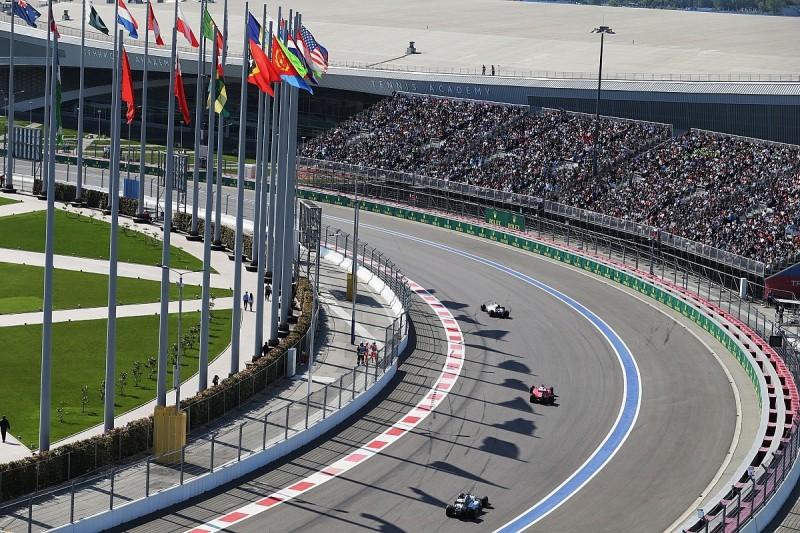 Russian Grand Prix extends Sochi Formula 1 deal to 2025