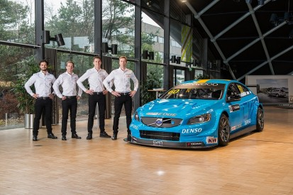 Catsburg joins Bjork and Girolami in expanded 2017 Volvo WTCC team