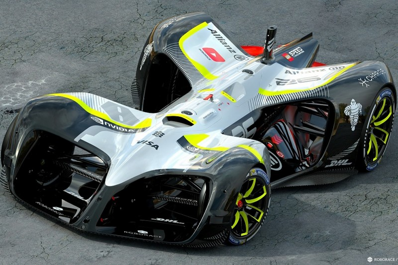 Roborace reveals final version of driverless Robocar