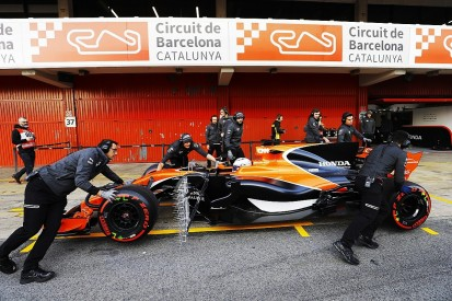 Honda F1 engine troubles in first test a surprise for McLaren