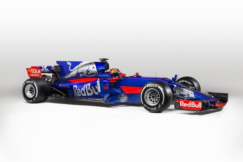 Toro Rosso reveals new 2017 Formula 1 car and livery at Barcelona