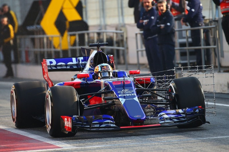 Toro Rosso focused on mileage at first test after shakedown glitch