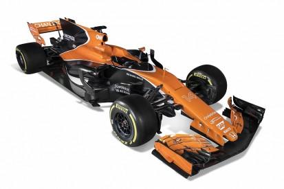 McLaren reveals its MCL32 2017 Formula 1 car and new livery