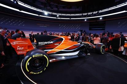 McLaren F1 team has bigger budget for 2017 despite no title sponsor