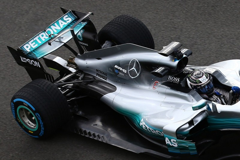 Mercedes evaluating radical T-wing on 2017 F1 car