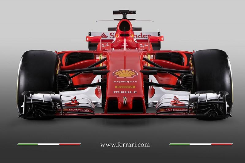 Ferrari unveils its SF70H 2017 Formula 1 car
