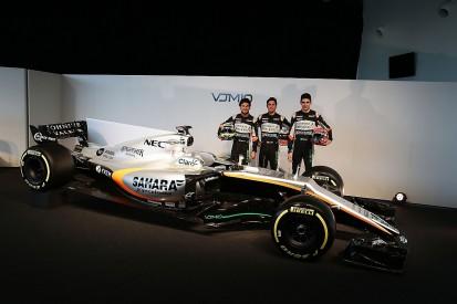 Force India reveals its VJM10 2017 Formula 1 car