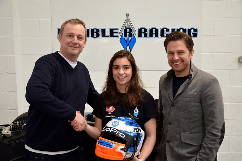 Jamie Chadwick makes GT-to-single-seater move with BRDC Formula 3