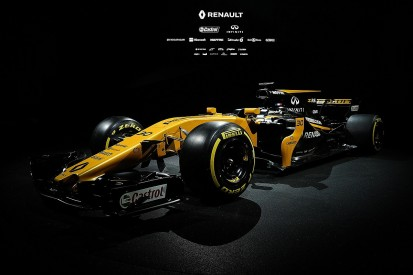 Renault Formula 1 team launches its 2017 car in London