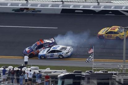 Daytona run-in with NASCAR rival Hamlin a message, Keselowski says