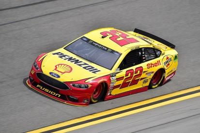 Logano leads NASCAR Daytona 500 practice as Earnhardt Jr returns