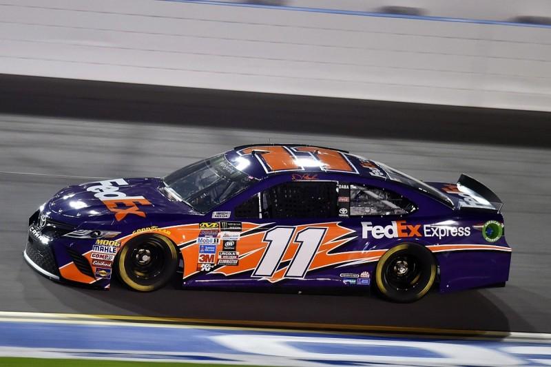 Denny Hamlin fastest in Daytona NASCAR Clash practice