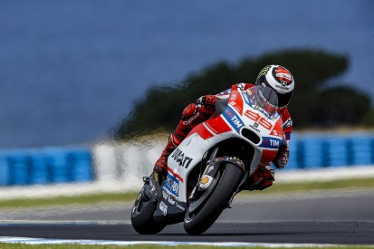 Lorenzo: Loss of winglets was evident in MotoGP Phillip Island test