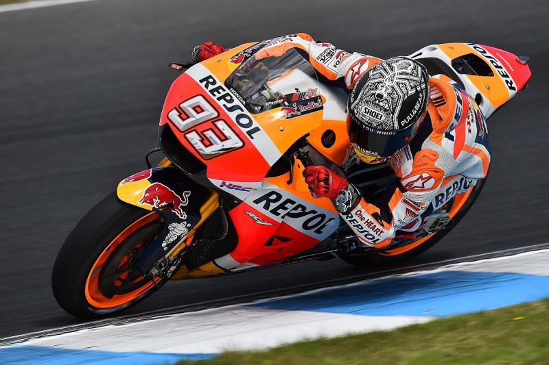 Honda made breakthrough with MotoGP engine in test, Marquez feels