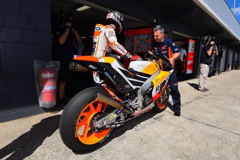 Marc Marquez says moans about Honda's MotoGP bike aren't mind games