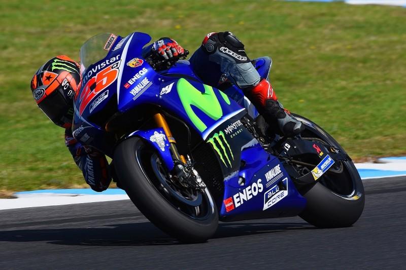 Phillip Island MotoGP test: Maverick Vinales fastest for Yamaha