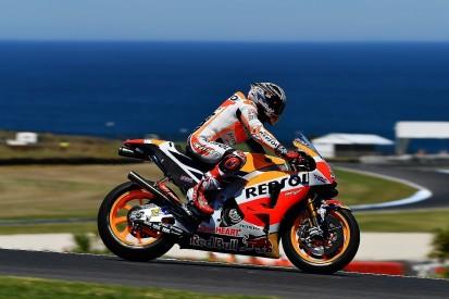 MotoGP testing: Marc Marquez leads Valentino Rossi at Phillip Island