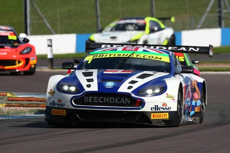 Beechdean Aston Martin team to miss 2017 British GT Championship