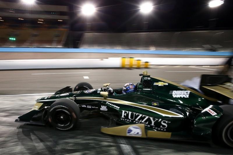 Hildebrand tops Phoenix IndyCar test despite crash