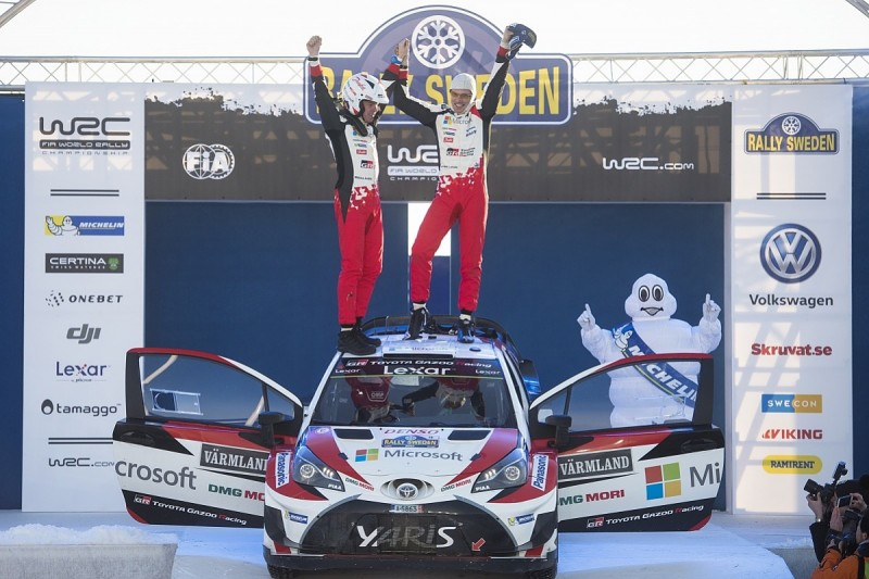 WRC Rally Sweden: Latvala grabs Toyota's first win since 1999