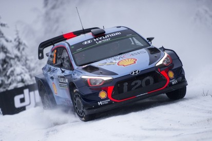 WRC Rally Sweden: Hyundai's Neuville adds to Rally Sweden lead