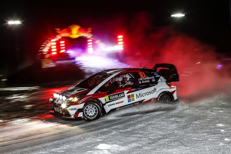 Jari-Matti Latvala takes early WRC Rally Sweden lead for Toyota