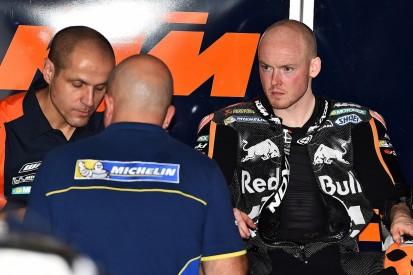 KTM MotoGP rider Smith's injured knee OK for riding but not walking
