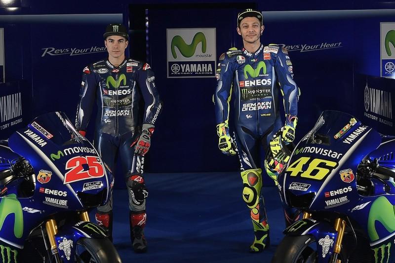 MotoGP 2017 Rossi Vinales Yamaha line-up 'a breath of fresh air'
