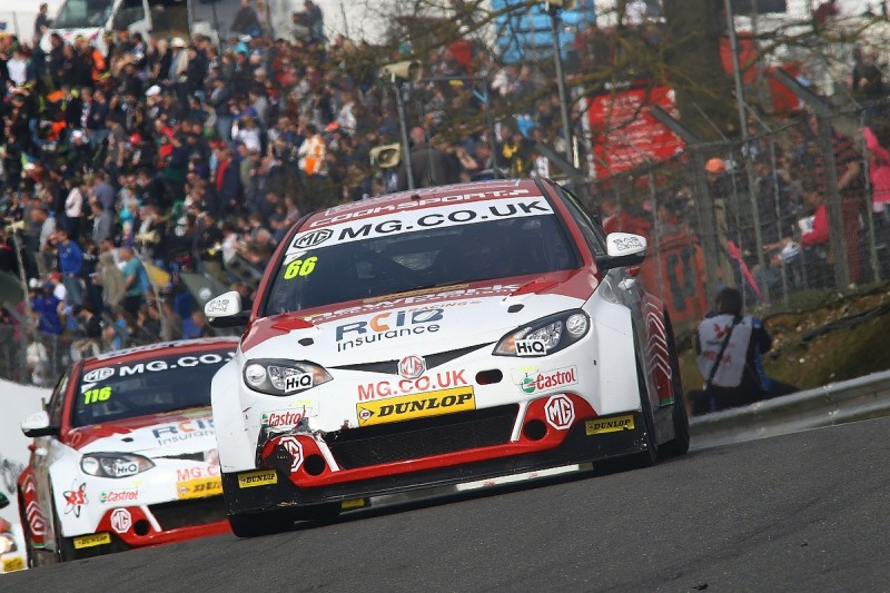 MG reveals all-new 2017 British Touring Car Championship line-up
